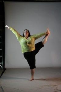 ragen chastain standing yoga